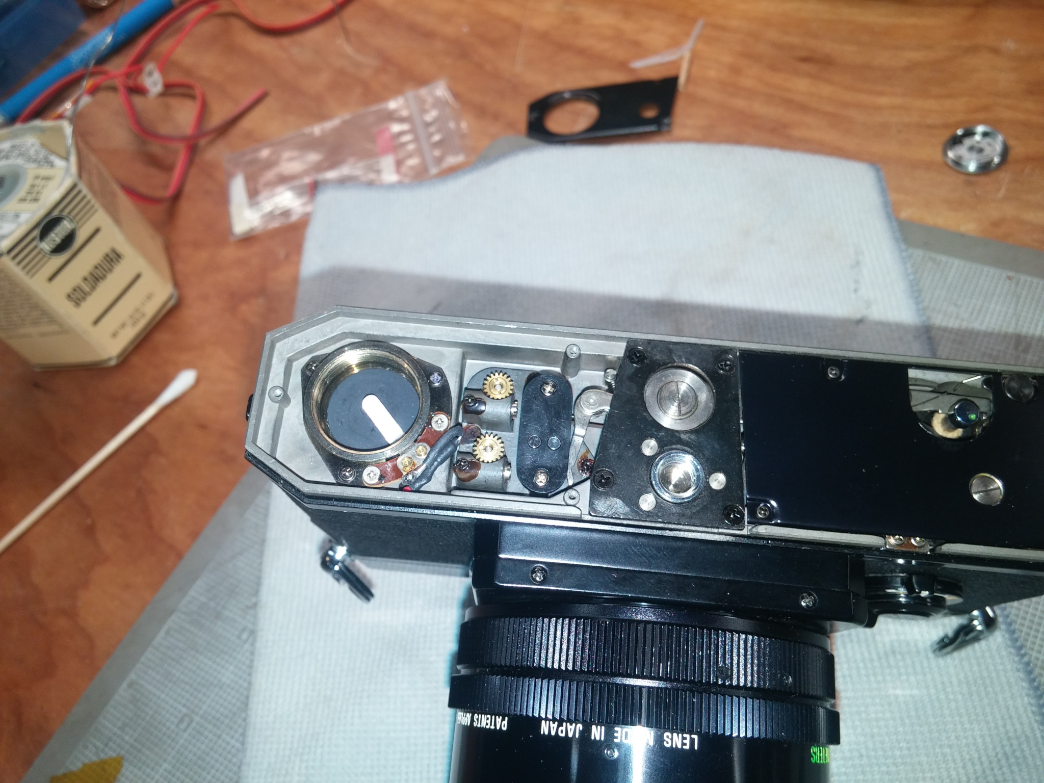 Canon F1 battery mod | Photrio com Photography Forums