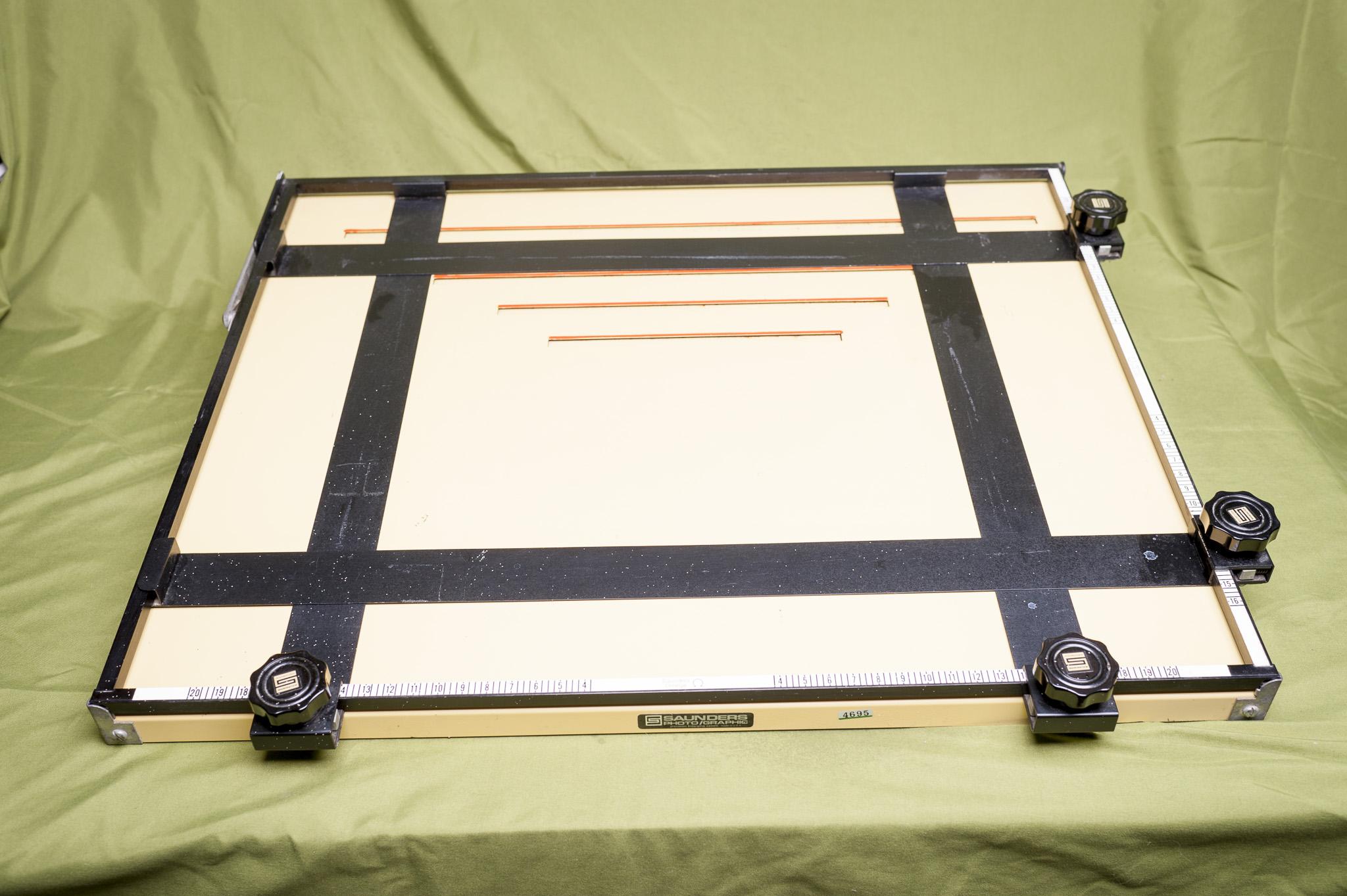 FS: Darkroom gear, Salt Hill easel, Saunders UA1620