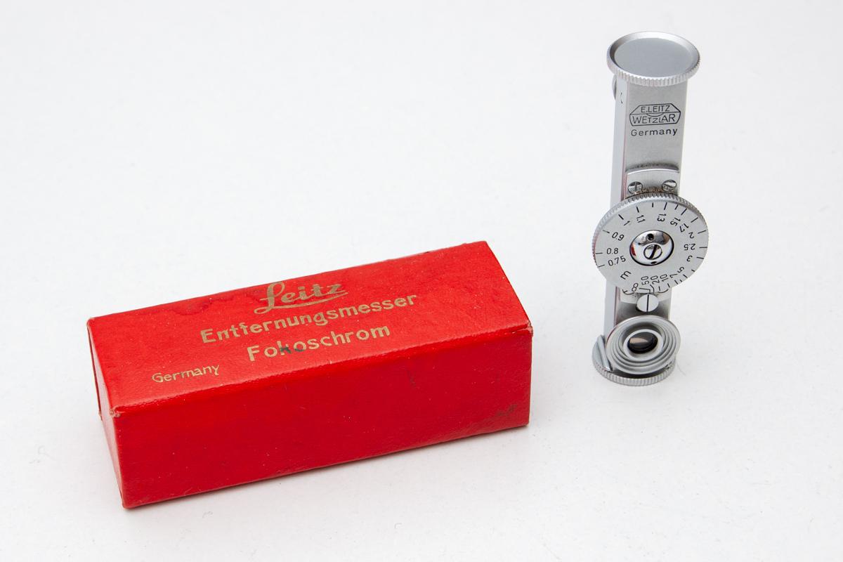 Leica Entfernungsmesser Fokos : Leitz fokos rangefinder for leica w box photrio.com photography