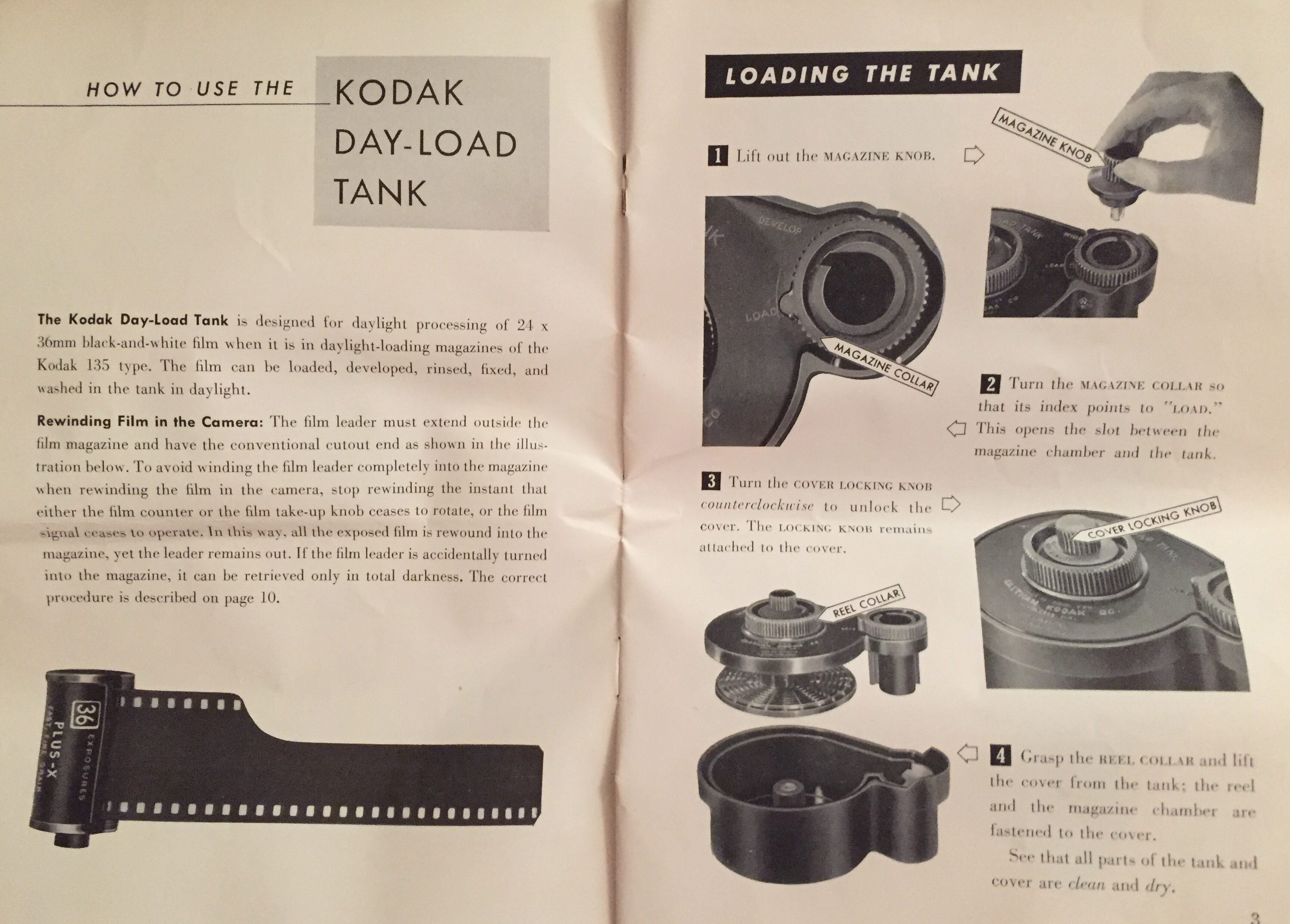 kodak day load tank how to photrio com photography forums
