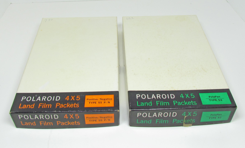 FS: Polaroid 4x5 Type 55 Positive Negative & Type 52 Polapan
