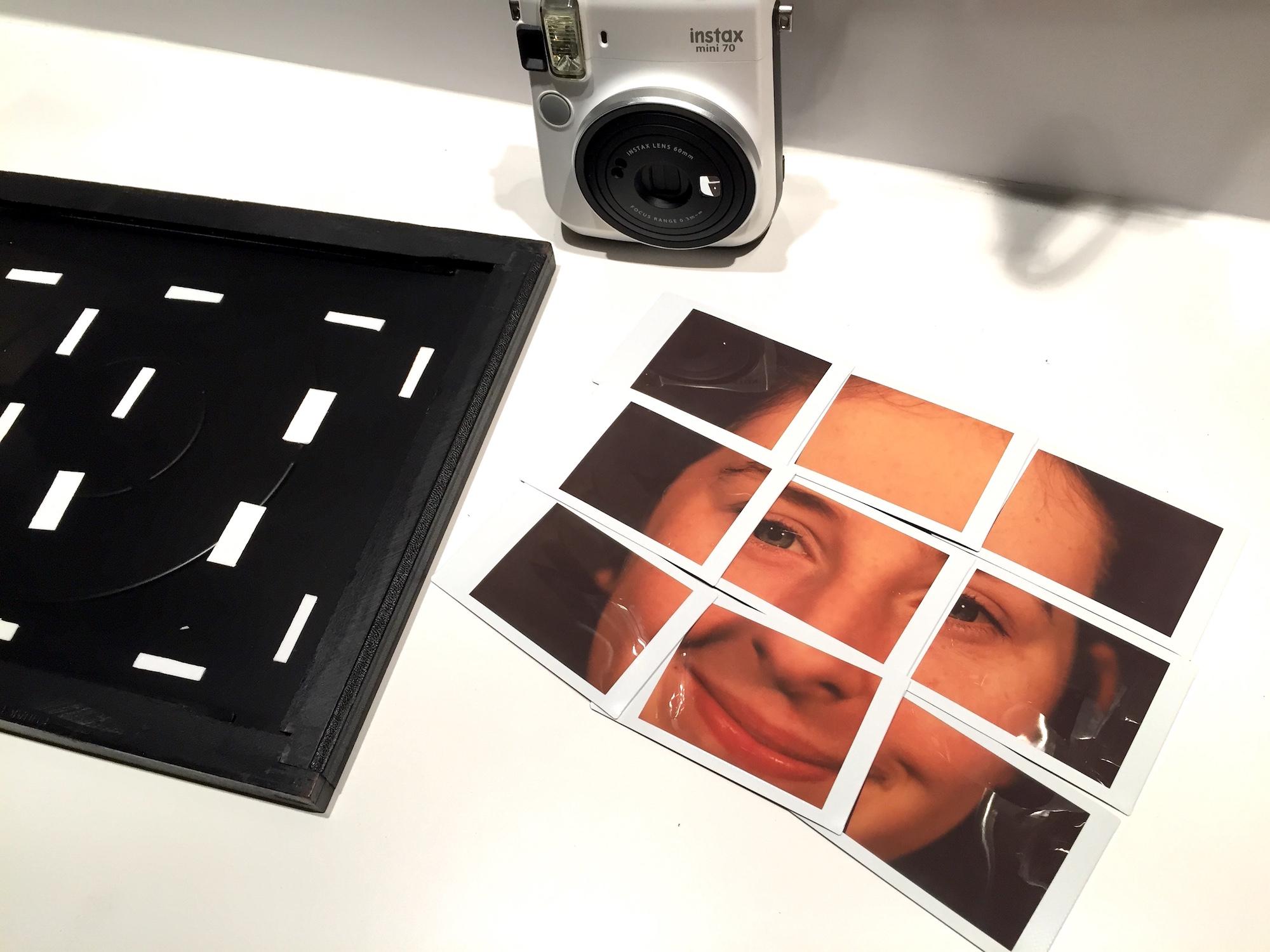 Instax Mini Film fits 2 1/4 x 3 1/4 Film Holders!