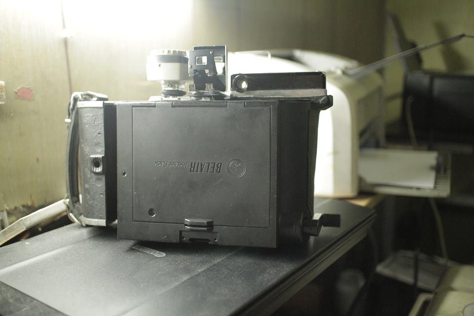 Polaroid 110 Instax Wide Conversion