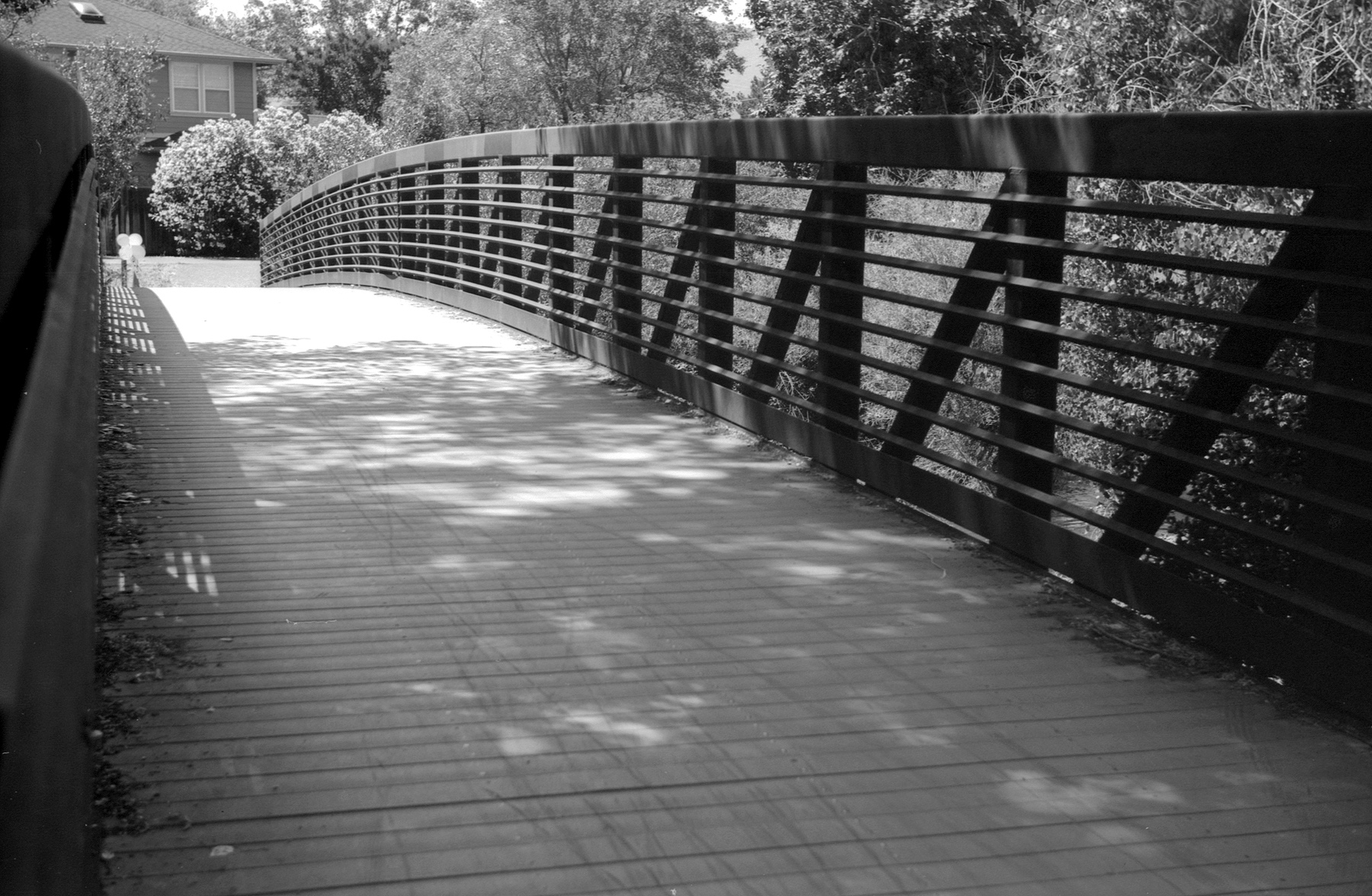 Leica IIIf Film Ferrania at 25 HC110 bridge.jpg