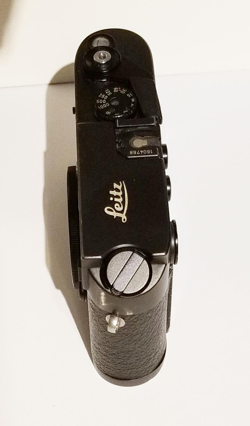 Leica M4 Vs M4p