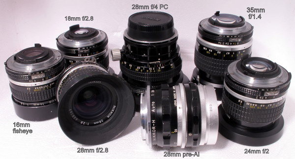 Is there a big difference in Nikon 28/2 8 Ai-s and Nikon Series E