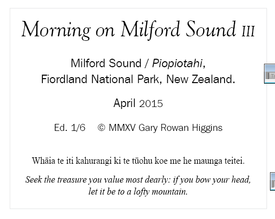 Morning on Milford Sound III_verso_label.PNG