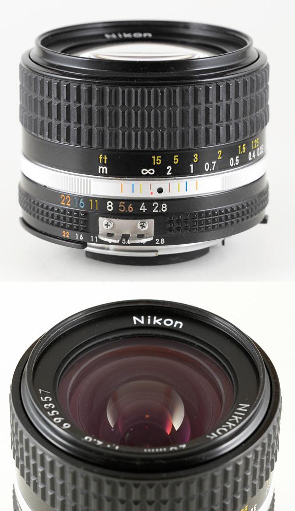 FS Nikkor 28mm 2 8 AIS, 20mm 3 5 AI   Photrio com