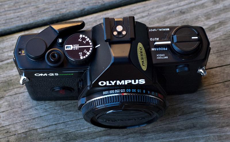 olympus om 2s program body photrio com photography forums rh photrio com Olympus OM 2 Manual Olympus OM 2 Battery