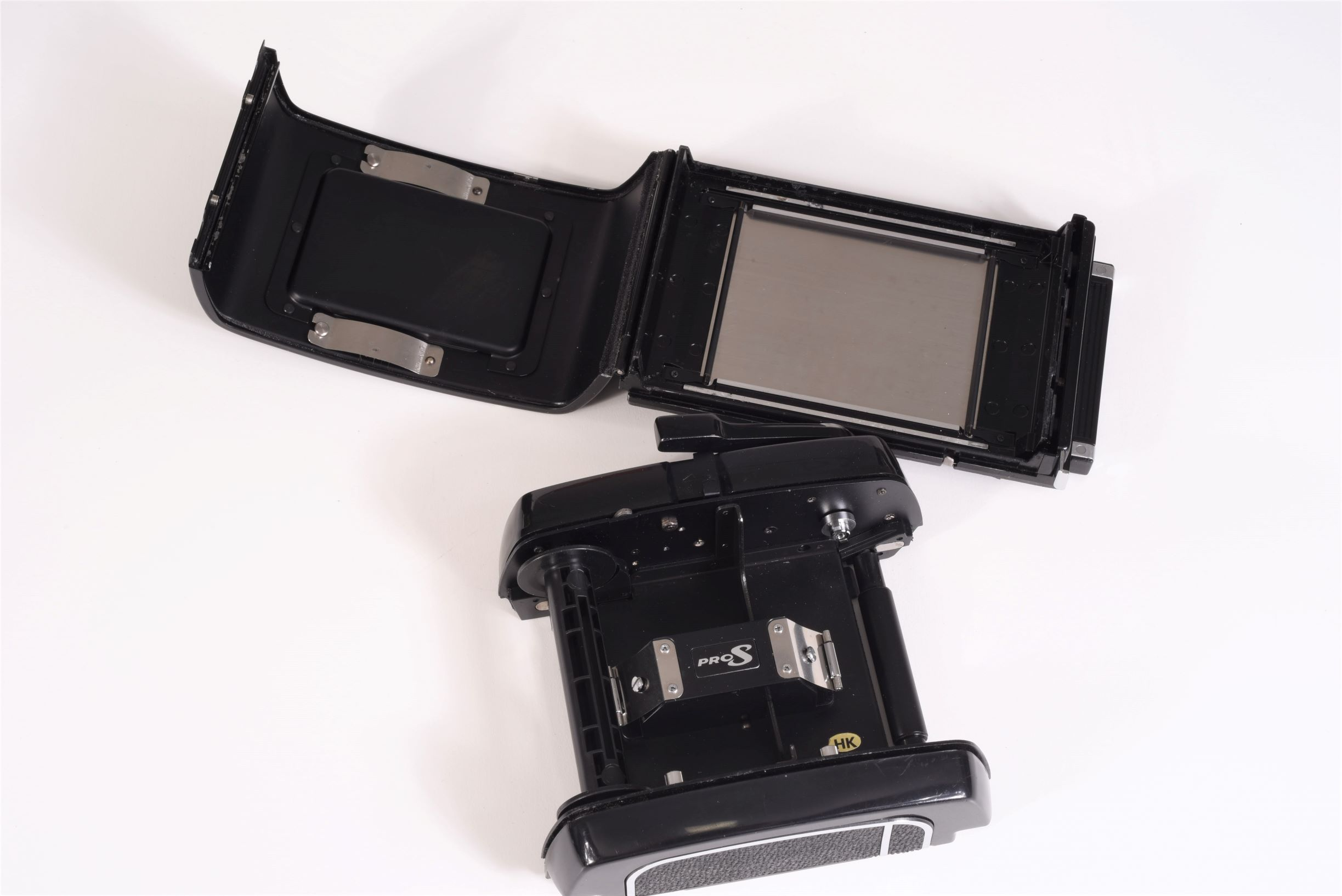 Mamiya RB67 Pro S, 90 & 180 mm lenses, WLF, back, extension