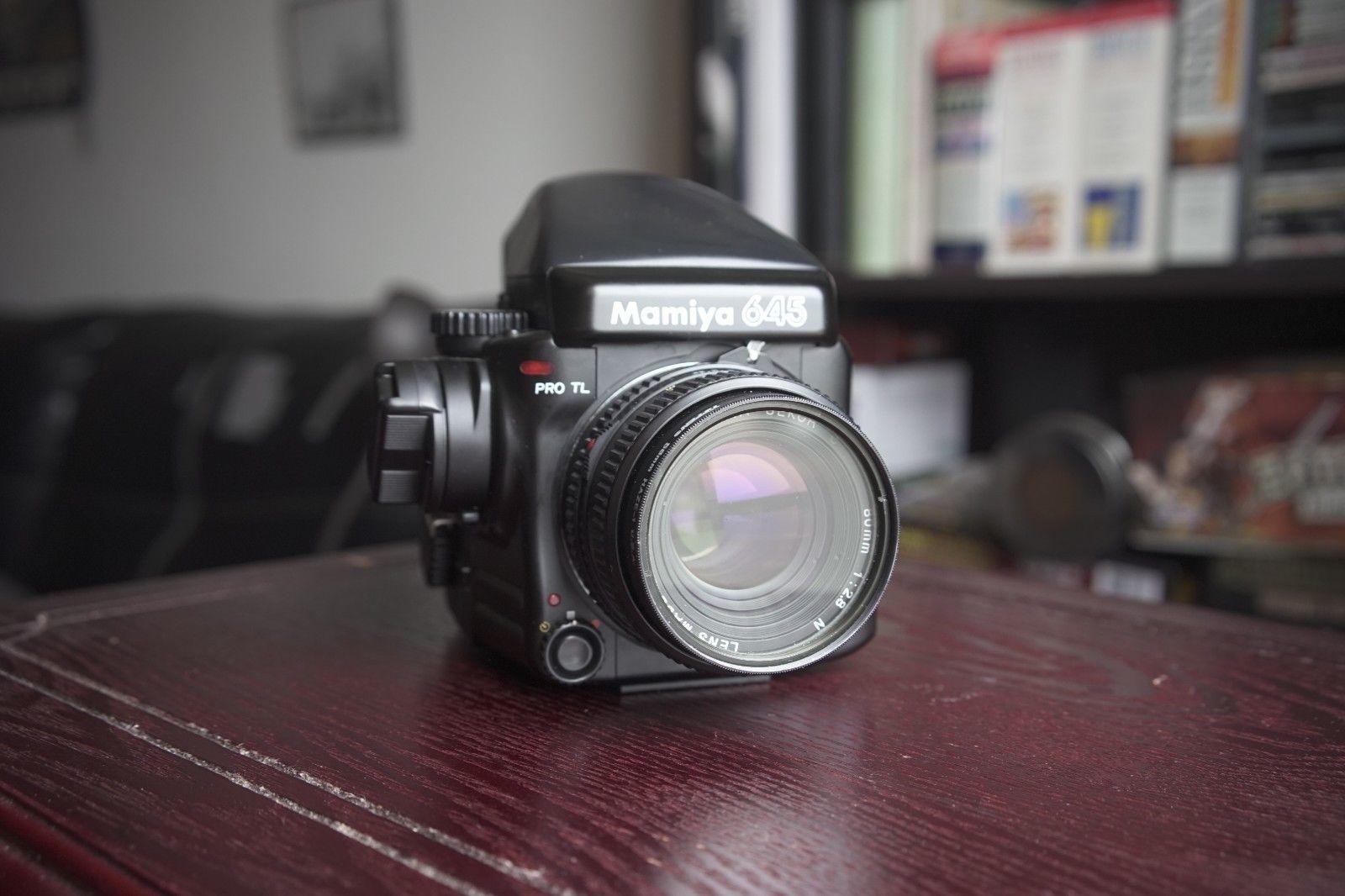 Mamiya 645 Pro TL with 80mm F2 8 + Extras | Photrio com